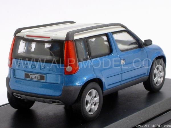 ABREX 143ABC801LI Skoda Yeti Concept (Blue Metallic) 1/43