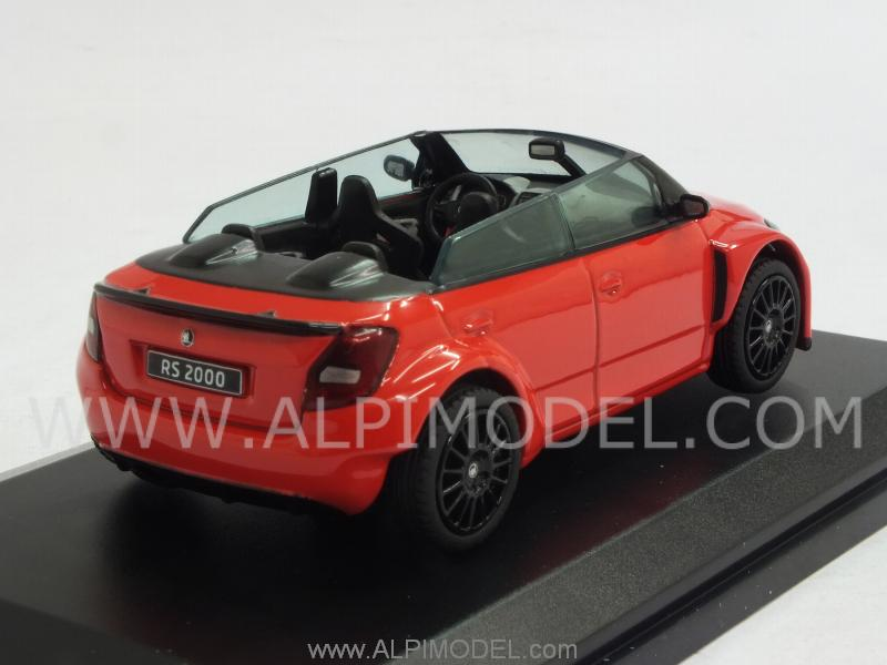 Skoda Fabia RS2000 Concept (Red) - abrex