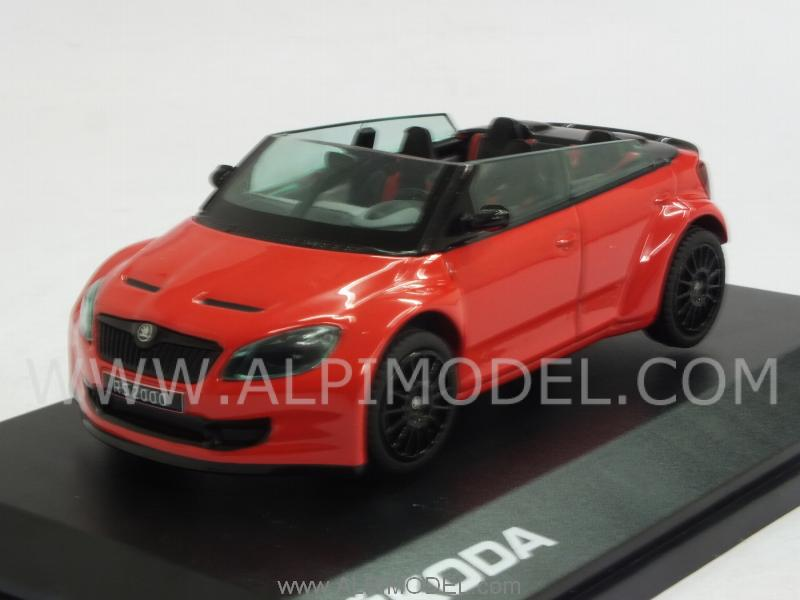 Skoda Fabia RS2000 Concept (Red) by abrex