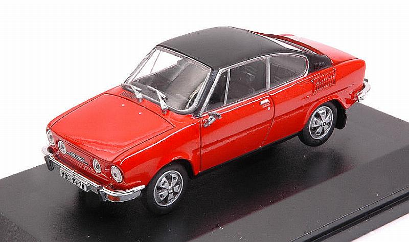 Skoda 110R Coupe 1980 (Racing Red- Black Roof) by abrex