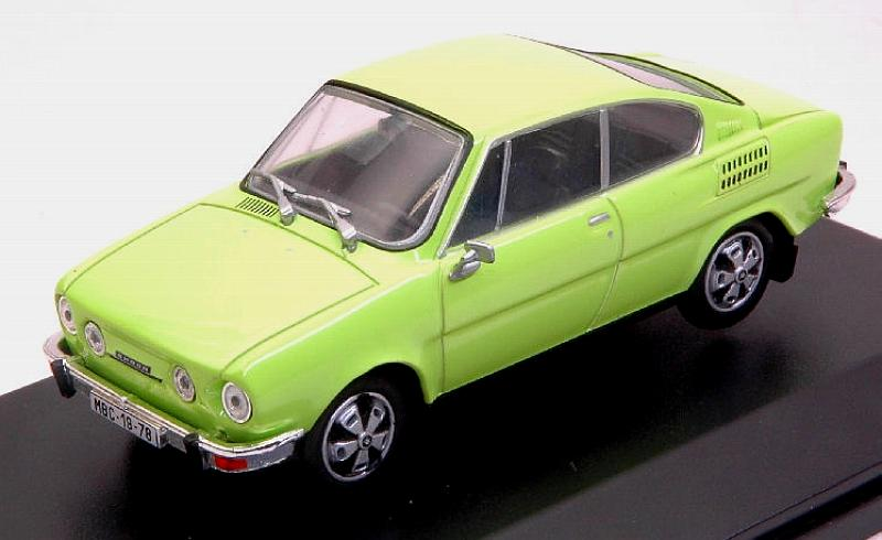 Skoda 110r Coupe' 1980 (Lime Green) by abrex