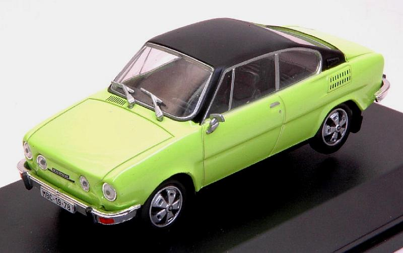 Skoda 110R Coupe 1980 (Lime Green/Black) by abrex