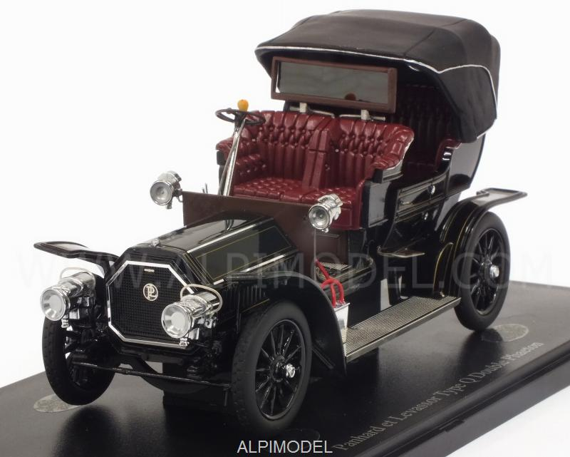 Panhard-Levassor Type Q Double Phaeton 1905 (Black) by auto-cult