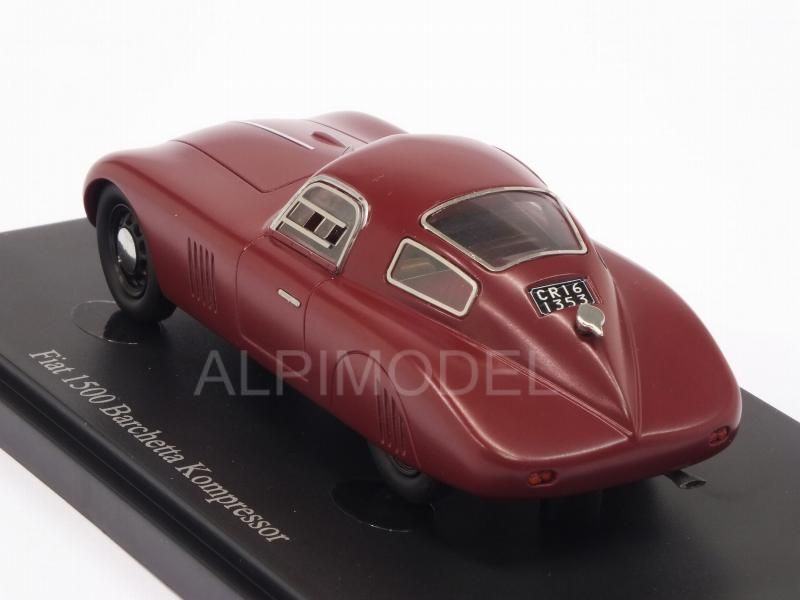 Fiat 1500 Barchetta Compressore 1943 (Dark Red) - auto-cult