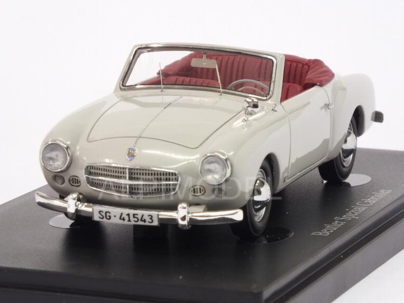 Beutler Spezial Cabriolet 1953 Grey Dark Red By Auto Cult
