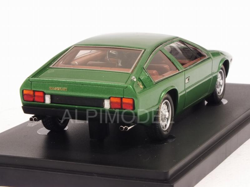 1//43 ITALDESIGN-Green Metallic Autocult 05028-1974 MASERATI 124 coupe 2+2