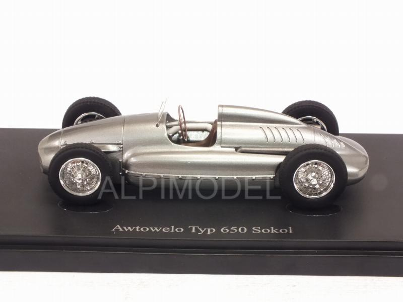 Awtowelo Type 650 Sokol 1952 (Silver) - auto-cult