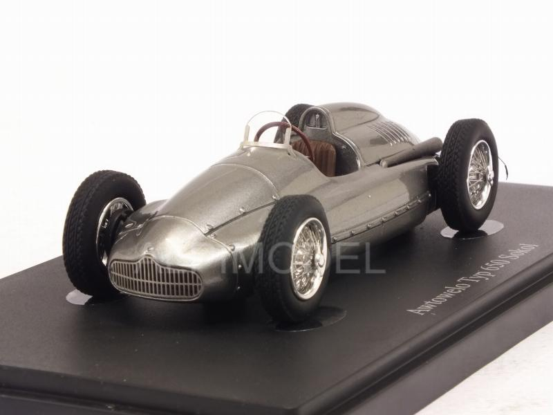 Awtowelo Type 650 Sokol 1952 (Silver) by auto-cult