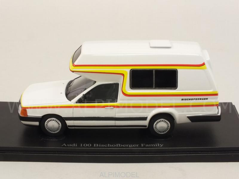 Audi 100 Camping Van Bischofberger Family 1985 - auto-cult