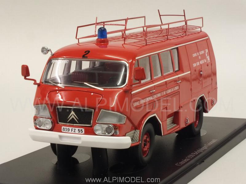 Citroen Belphegor Type 350 Fire Brigades 1966 by auto-cult