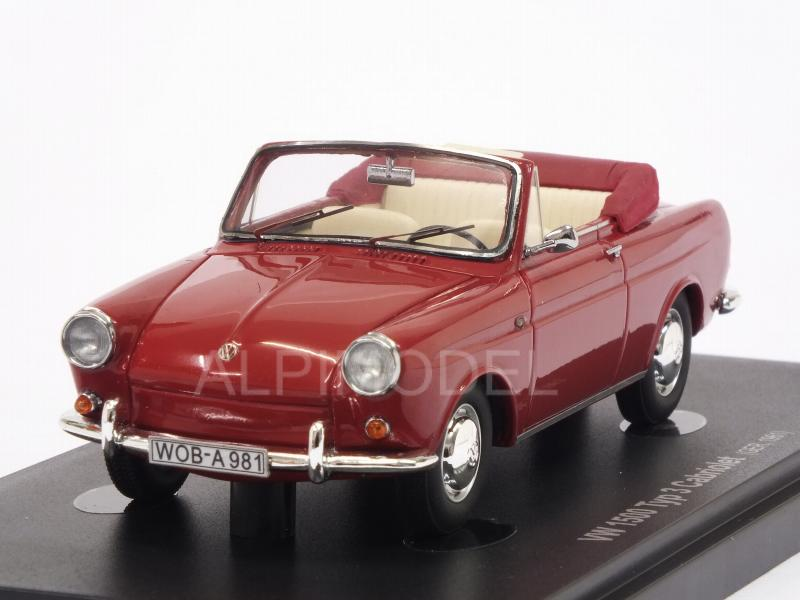 Volkswagen 1500 Typ 3 Cabriolet 1961 (Red) by auto-cult