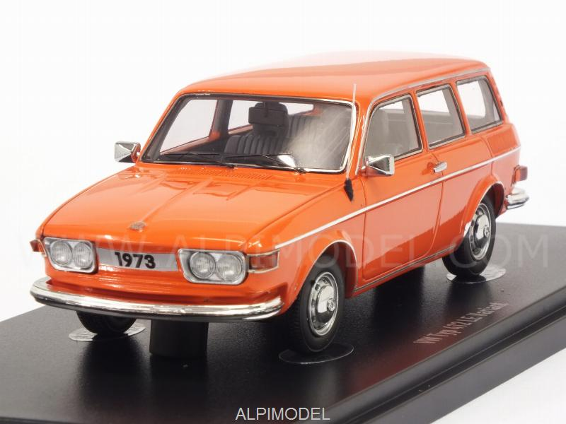 Volkswagen Typ 412 LE Variant 1973 (Orange) Special Edition by auto-cult