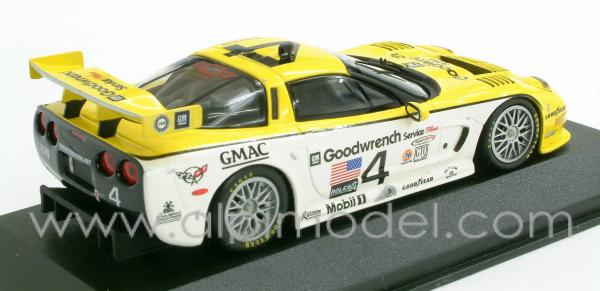 Chevrolet Corvette C5R Collins - Pilgrim - Freon 24h Daytona 2000 - action