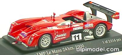 Panoz LMP Roadster Brabham - Magnussen - Andretti Le Mans 2000 by action