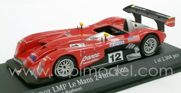 Panoz LMP Roadster Katoh - O' Connell - Raphanel Le Mans 2000 by action