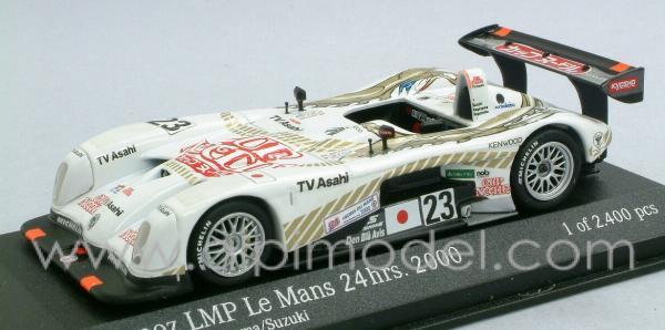 Panoz LMP Roadster Team Dragon Suzuki/Kageyama/Kageyama 6th Le Mans 2000 by action