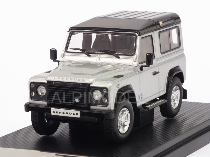 Land Rover Defender 90 2014 (Silver) by almost-real