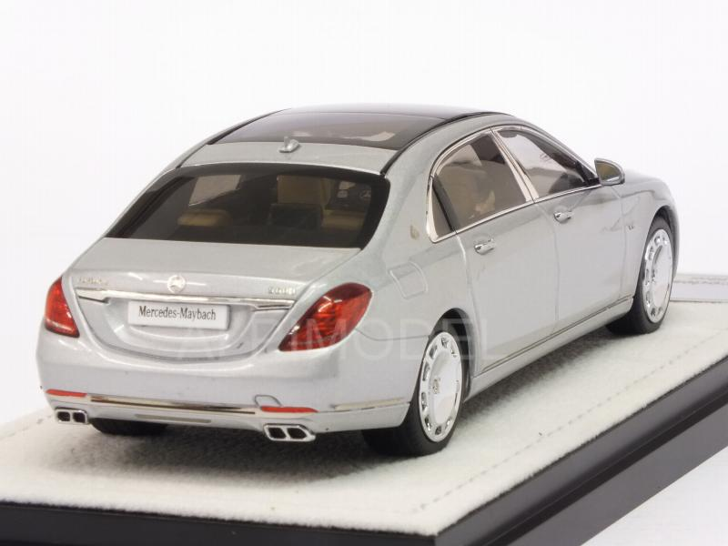 Mercedes S-Class Maybach 2016 (Iridium Silver) - almost-real