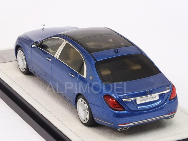 Mercedes S-Class Maybach 2016 (Brilliant Blue) - almost-real
