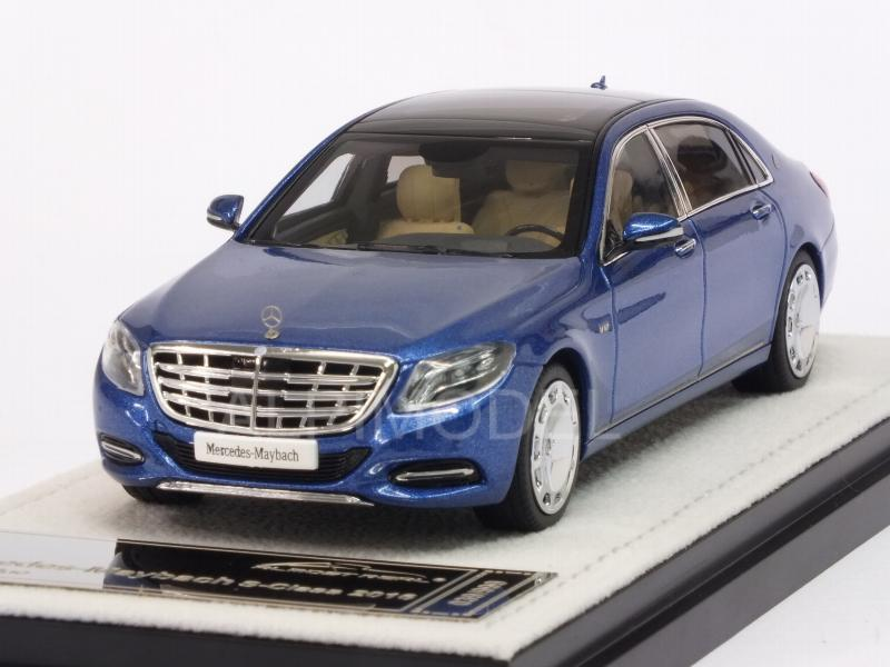 Mercedes S-Class Maybach 2016 (Brilliant Blue) by almost-real