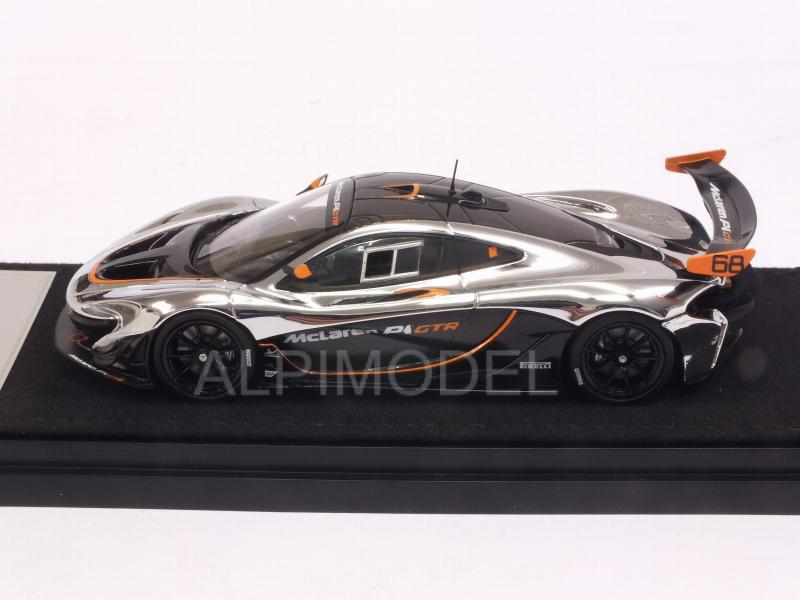 McLaren P1 GTR (Chrome/Gloss Black) - almost-real