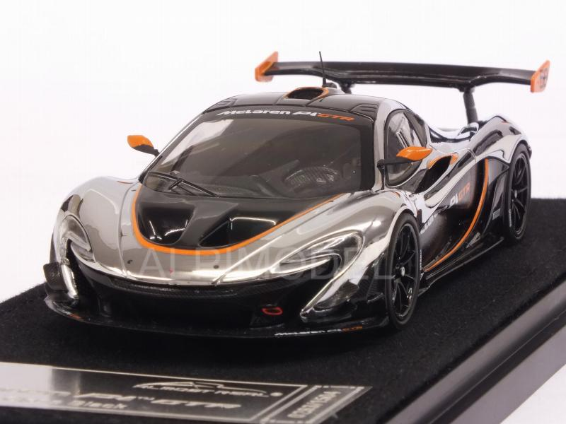 McLaren P1 GTR (Chrome/Gloss Black) by almost-real