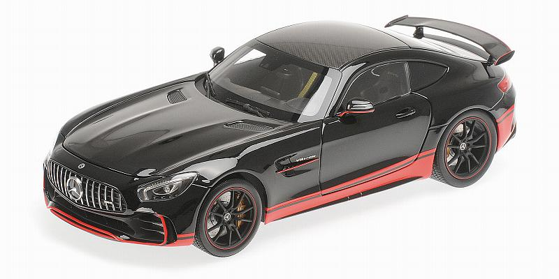 Mercedes Amg Gt R 2017 (Black with Red Stripe) by almost-real
