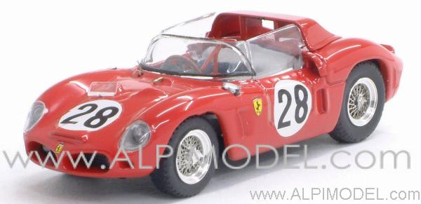 Ferrari Dino 246 SP #28 Le Mans 1962 Rodriguez - Rodriguez by art-model