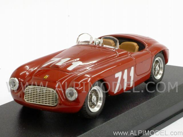 Ferrari 166 MM Spider Mille Miglia 1950 Bracco-Maglioli by art-model