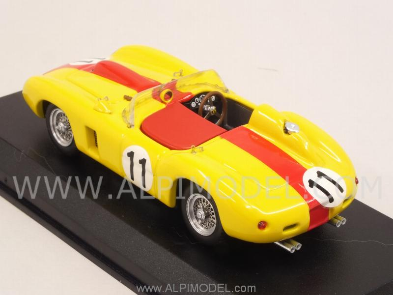 Ferrari 290 MM #11 Le Mans 1957 Swaters-Cangy - art-model