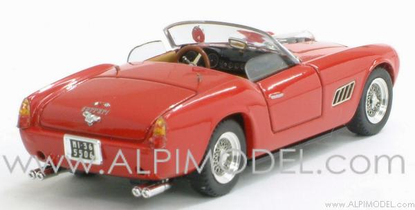 Ferrari 250 Spider California  Competizione Prova 1960 (red) - art-model