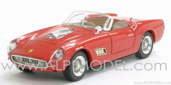 Ferrari 250 Spider California  Competizione Prova 1960 (red) by art-model