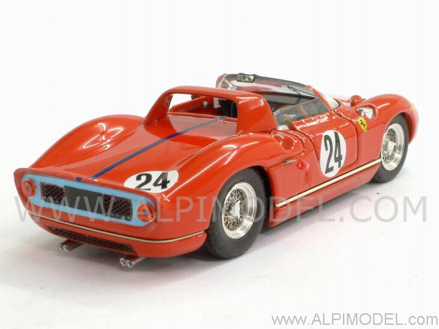 Ferrari 330 P #24 Sebring 1965  Hill - Bonnier - art-model