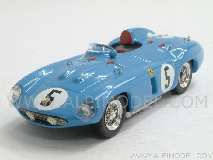 Ferrari 750 Monza #5 1000 Km Paris 1956 Picard - Trintignant by art-model