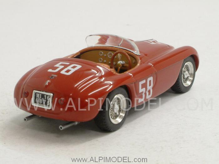 Ferrari 212 MM #58 Targa Florio 1951 Stagnoli - Restelli - art-model