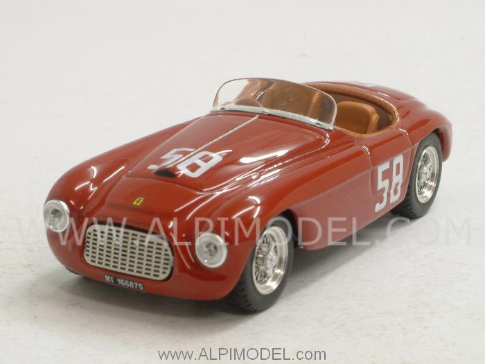 Ferrari 212 MM #58 Targa Florio 1951 Stagnoli - Restelli by art-model