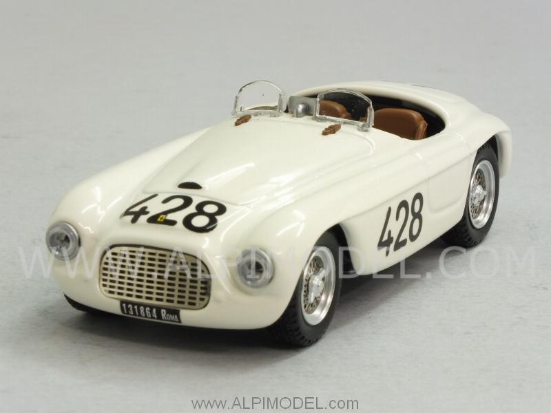 Ferrari 166 MM SP #428 Targa Florio 1950 Musso - Gaboardi by art-model
