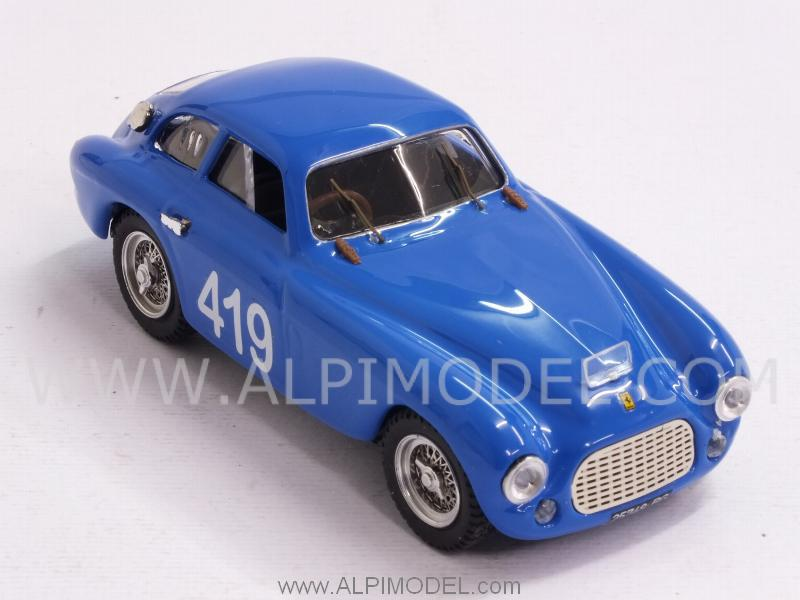 Ferrari 166 MM Coupe #419 Targa Florio 1953 Musitelli - Musitelli - art-model