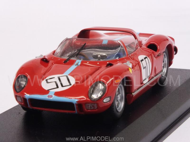 Ferrari 330P #50 Winner Monza 1964 Ludovico Scarfiotti by art-model