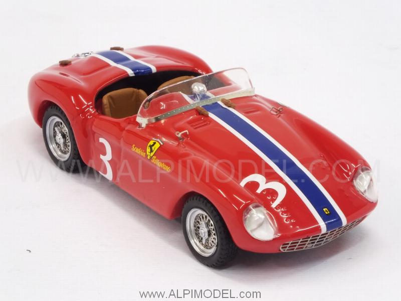 Ferrari 500 Mondial #3 Palm Springs 1955 Bruce Kessler - art-model