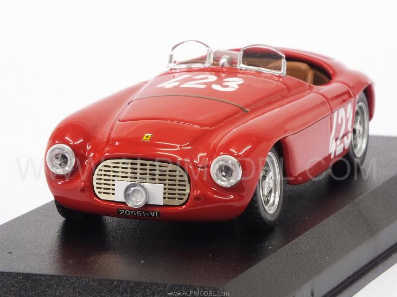Ferrari 166 MM Barchetta #423 Winner Giro Sicilia 1952 Marzotto - Marini by art-model