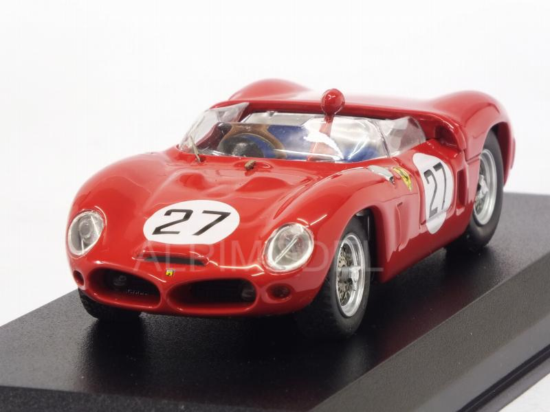 Ferrari Dino 268 SP #27 50th Anniversary 1st Ferrari Victory Caracalla 1947-1997 Nino Vaccarella by art-model