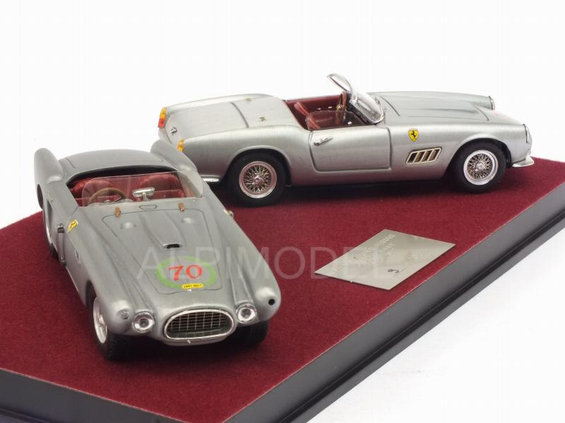 Ferrari 340 Mexico Spider + Ferrari 250 Califordina 70th Anniversary Ferrari 1947/2017 - art-model