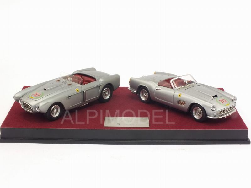 Ferrari 340 Mexico Spider + Ferrari 250 Califordina 70th Anniversary Ferrari 1947/2017 by art-model