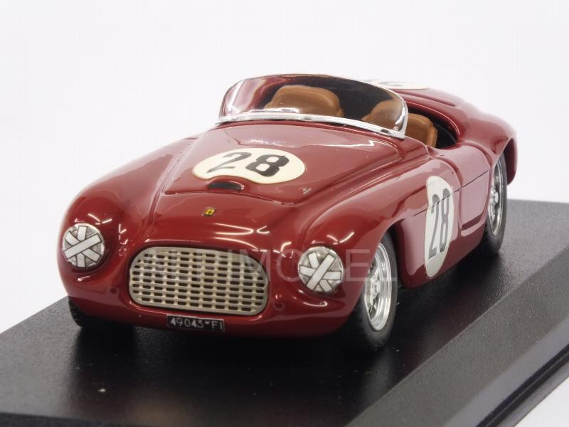 Ferrari 166 MM Barchetta #28 Portugal Grand Prix 1952 C.Biondetti by art-model