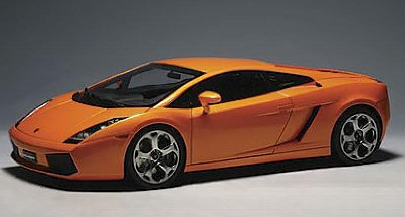 Lamborghini Gallardo 2003 (Orange) 1/12 by auto-art