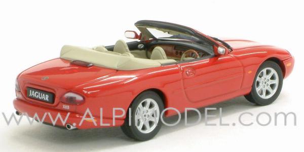 auto art 53711 jaguar xk8 cabrio phoenix red 1 43. Black Bedroom Furniture Sets. Home Design Ideas