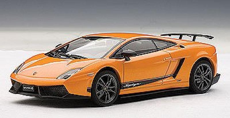 Lamborghini Gallardo LP570-4 Superleggera (Borealis Orange) by auto-art