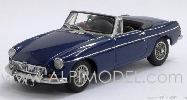 MG B GT Roadster MKII 1969 (Pageant Blue) by auto-art