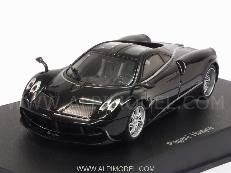 Pagani Huayra 2012 (Black w/Silver Stripres) by auto-art